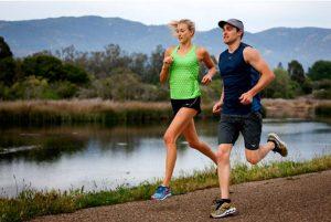 Summer Running With A Partner